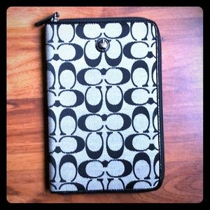 Coach tablet/iPad cover